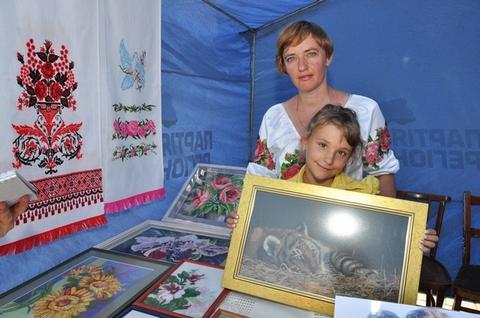 Мама і дочка – Тетяна й Настя Жданови – з Кременчуцького району.